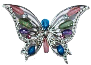 Jeweled Butterfly Magnet