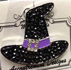 Witch Hat Purple Band