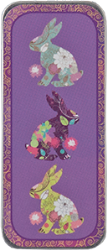 Flower Bunnies Needle Slide