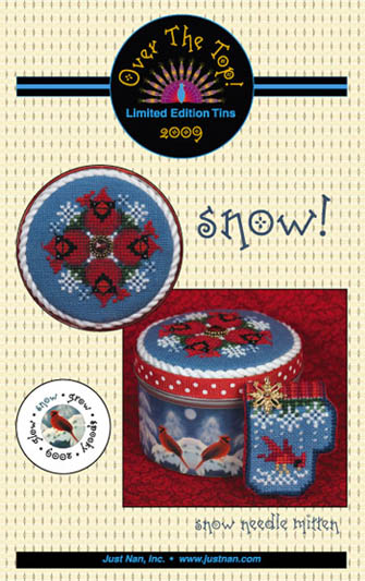 Over The Top Tin - Snow