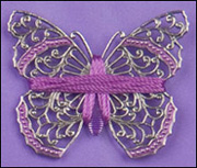 Filigree Butterfly wrapped